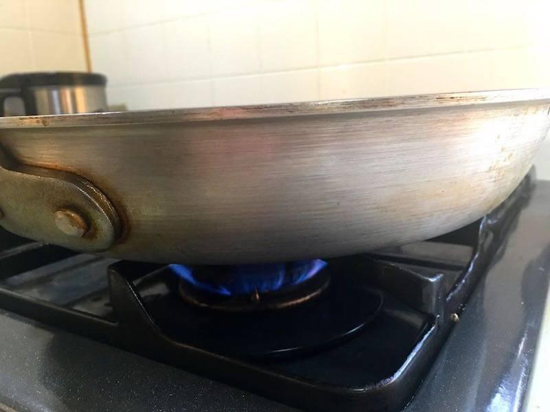 魚のソテーフライパンでの焼き方12