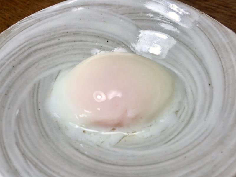63℃で30分低温調理した卵