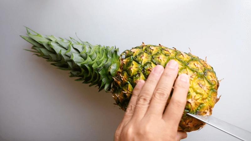パイナップル飾り切り4