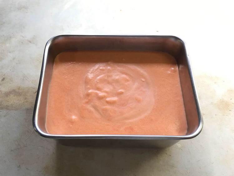 パプリカのムースの作り方31