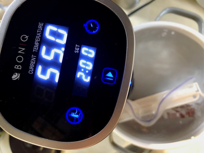 低温調理で牛ヒレステーキ41