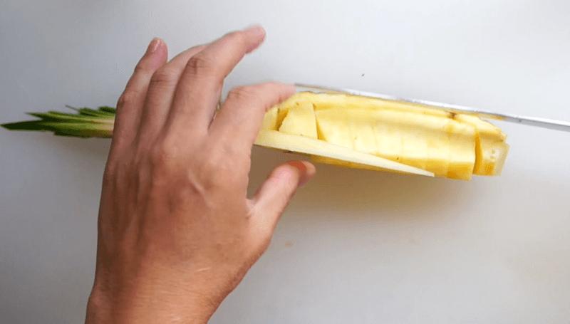 パイナップル飾り切り16