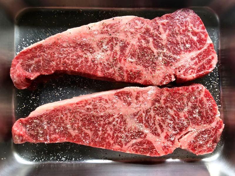 低温調理でステーキの焼き方4