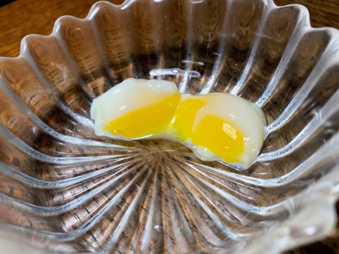 うずらの卵の低温調理 - 4