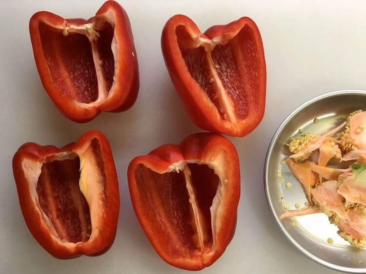 パプリカのムースの作り方2