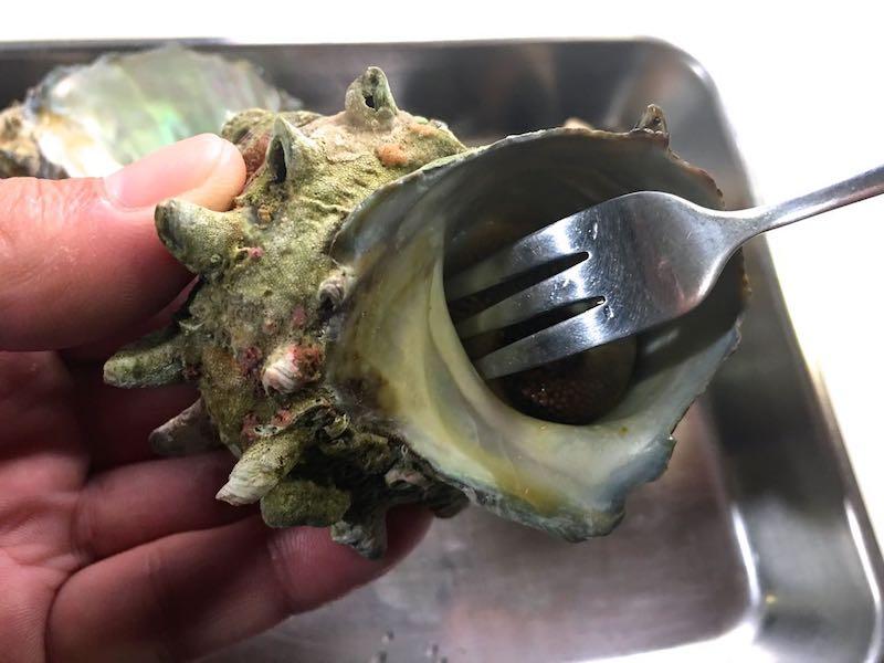サザエのエスカルゴバター焼き09