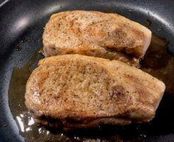 低温調理で豚ロースステーキの作り方26