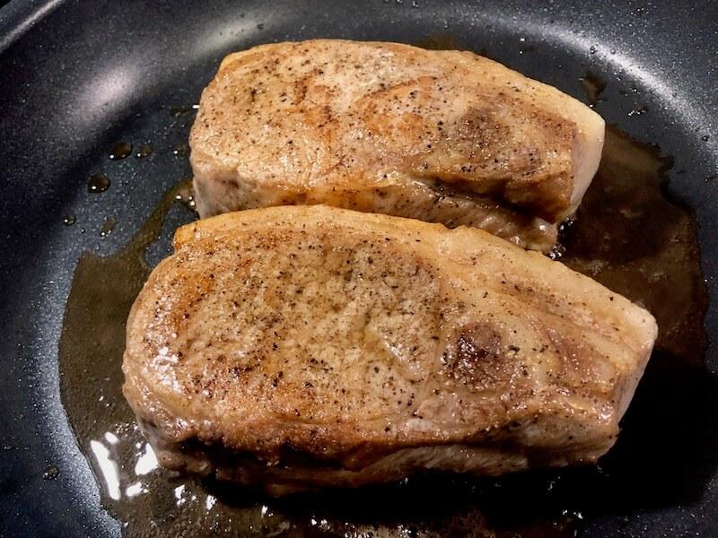 ステーキ 豚肉