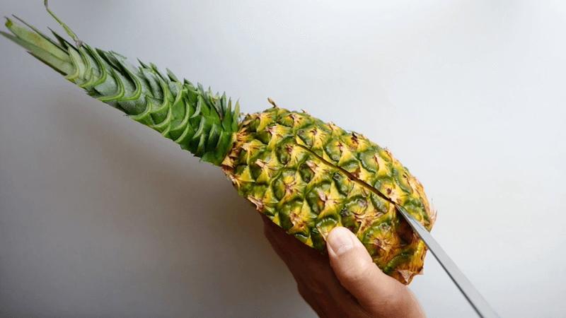 パイナップル飾り切りボート3
