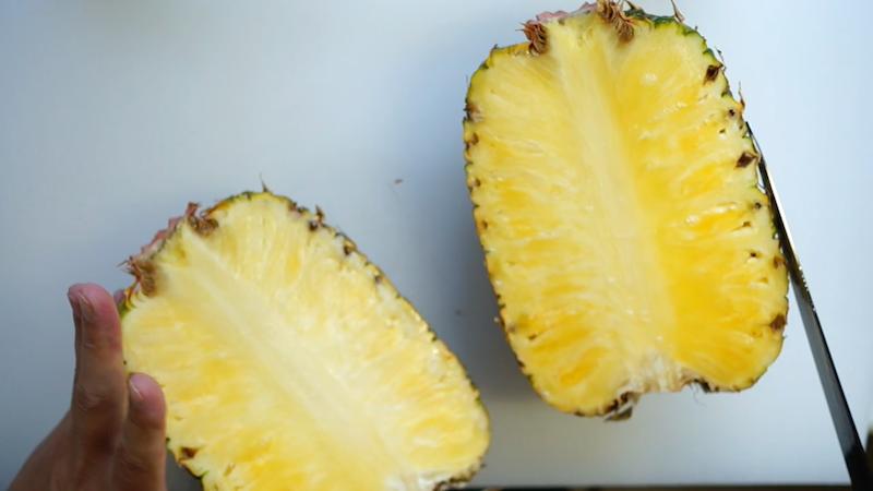 パイナップルの切り方-7