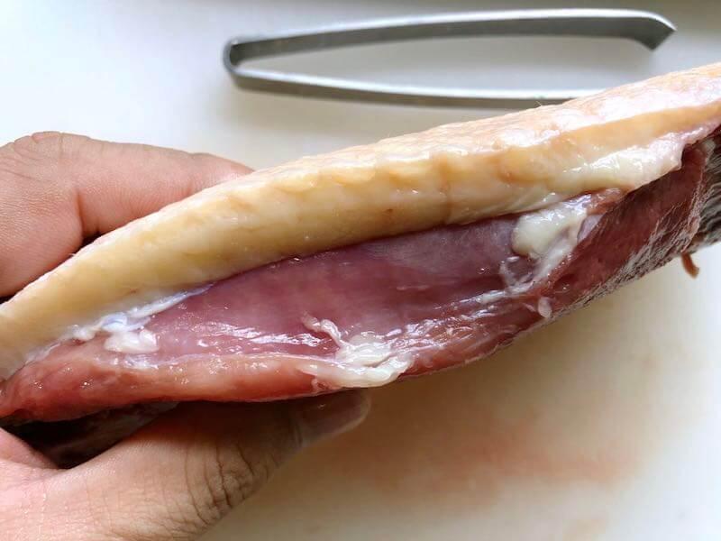 鴨胸肉の下処理17