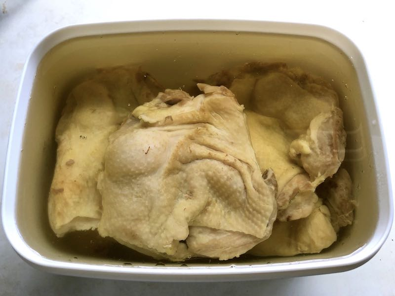 鶏もものコンフィの作り方20