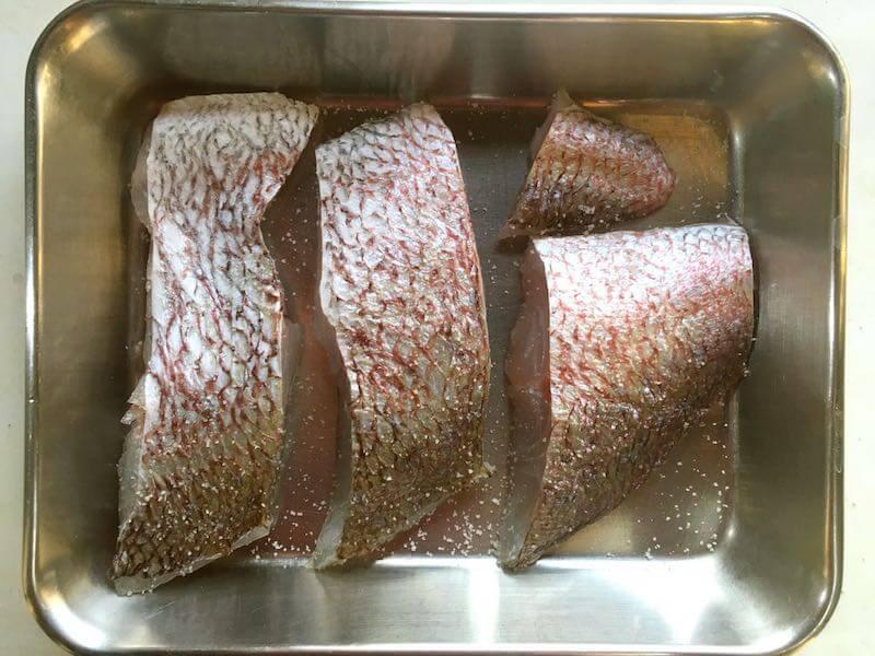 魚のソテーフライパンでの焼き方7