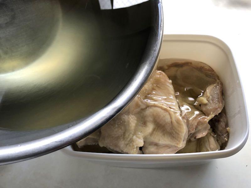 鶏もものコンフィの作り方17
