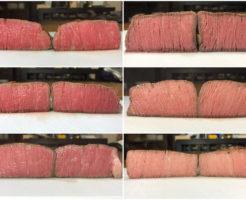 低温調理牛ヒレステーキ比較