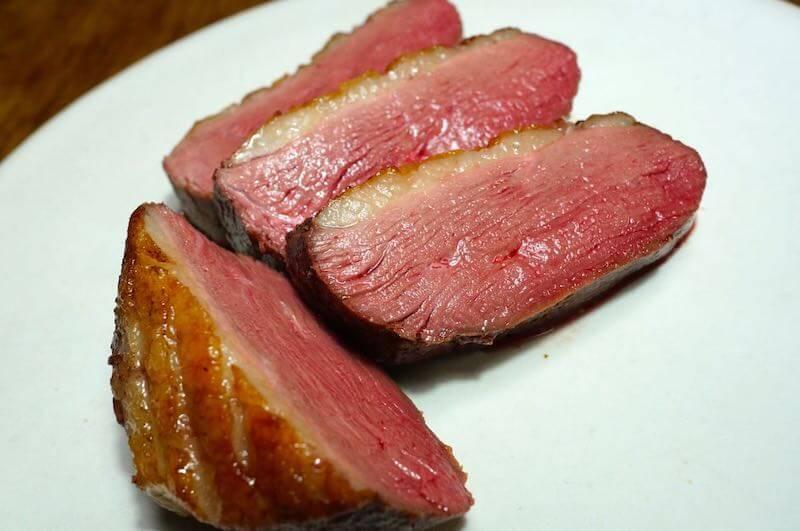 低温調理鴨胸肉1