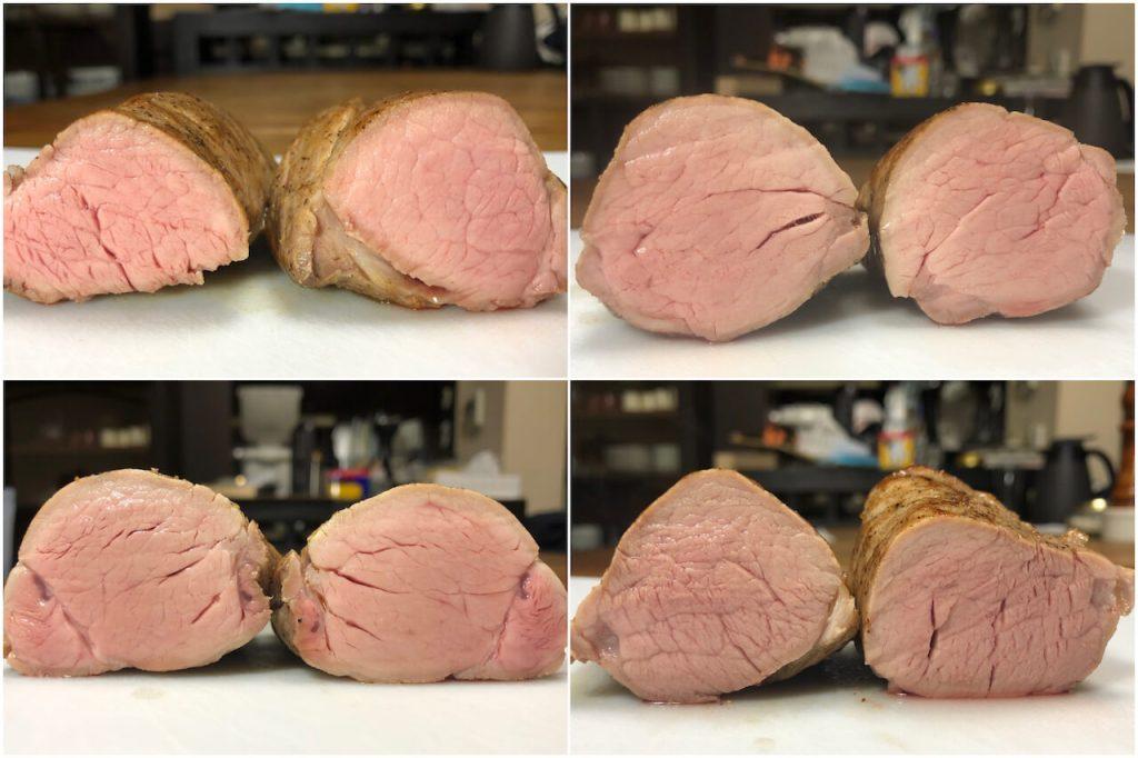 低温調理 で豚ヒレ肉を調理 温度60 63 66 で比較 プロレシピブログ 艸souの作り方