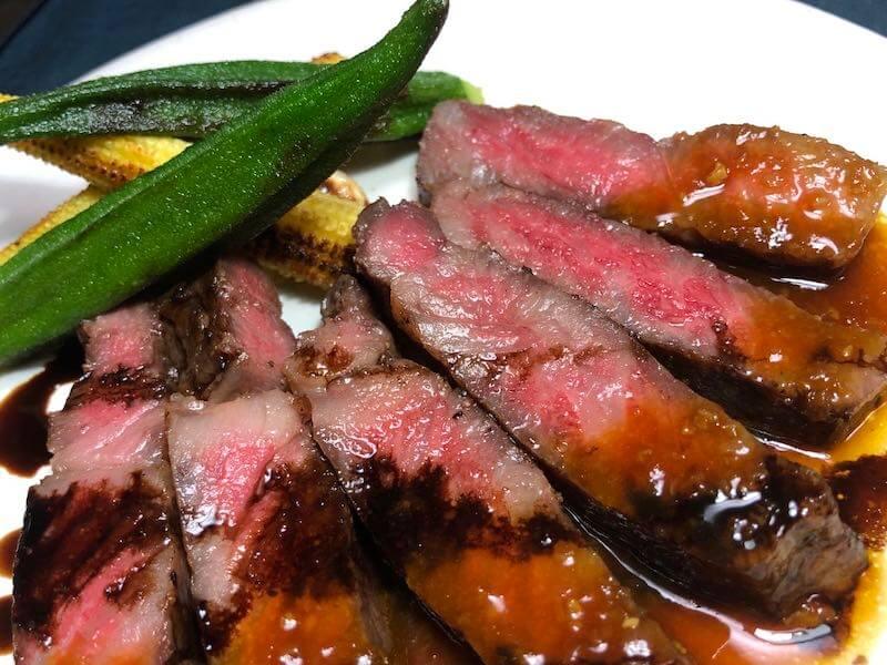 低温調理でステーキの焼き方17