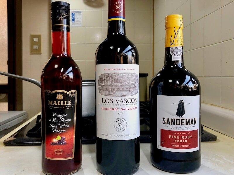 赤ワインソースの作り方1