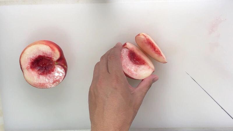 桃の切り方2