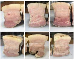 低温調理豚バラ肉比較