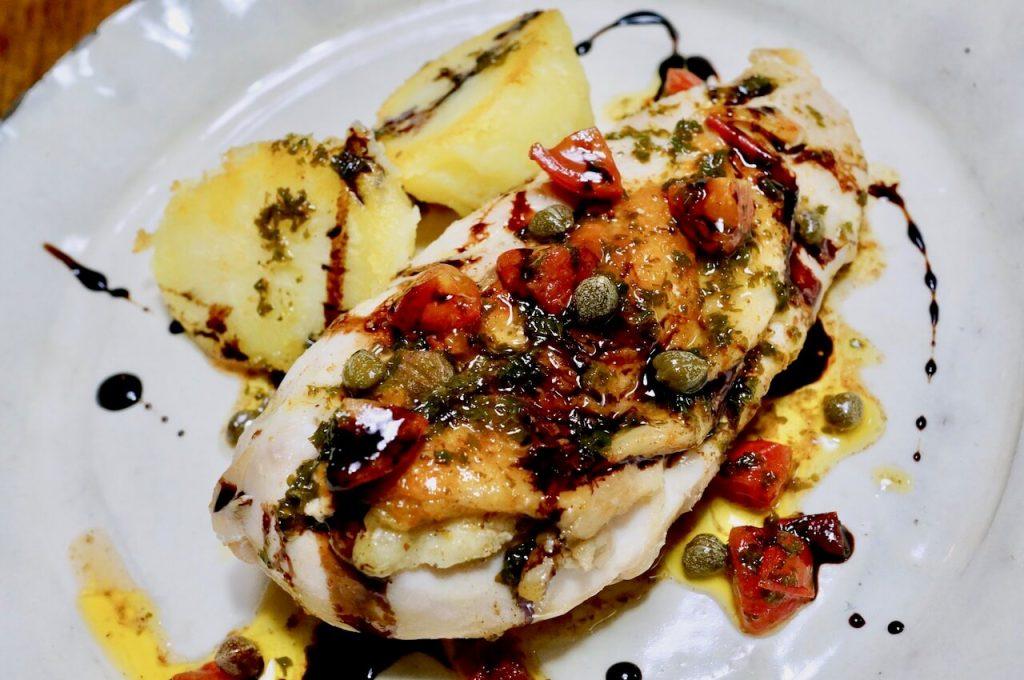 低温調理で鶏胸肉のステーキの作り方23