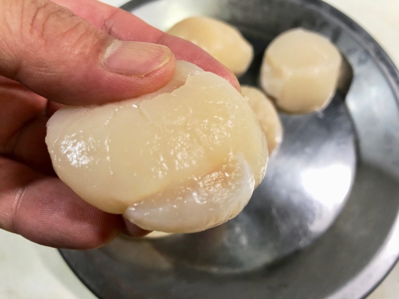 ホタテの焼き方2