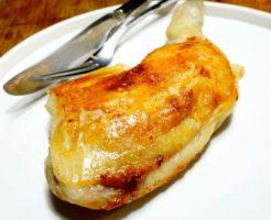 低温調理鶏もも肉のコンフィ完成5