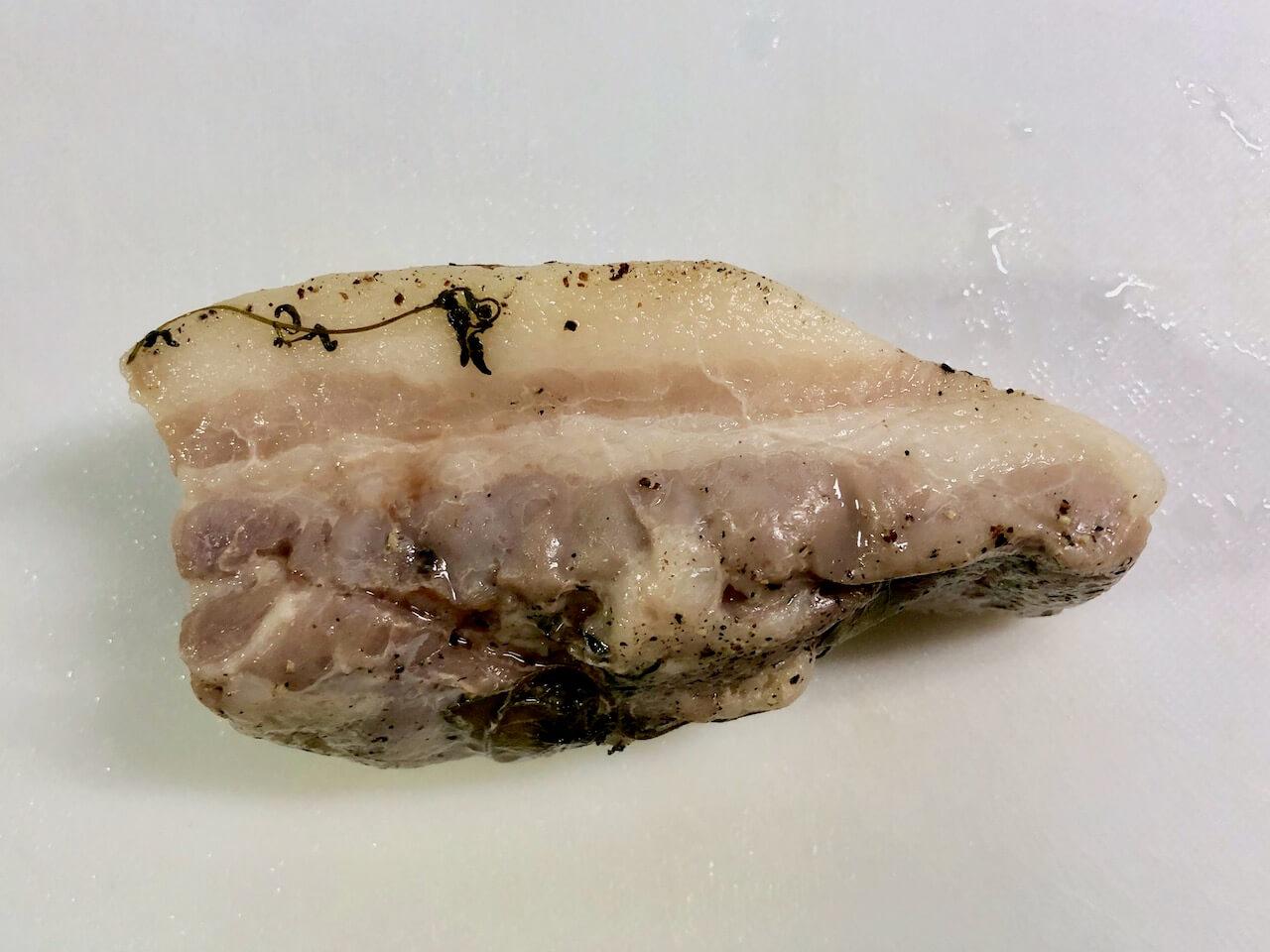低温調理豚バラ肉13