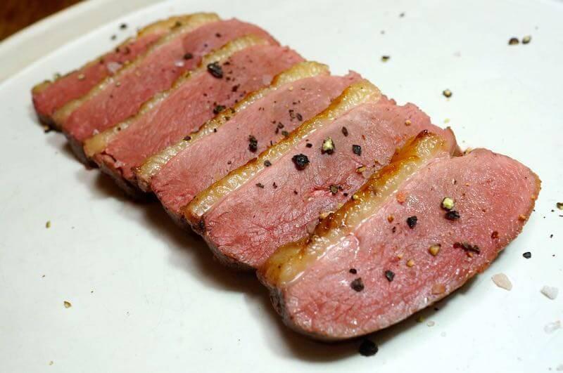 低温調理鴨胸肉6