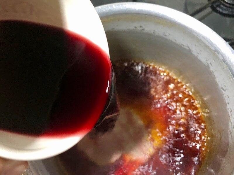 赤ワインソースの作り方 15