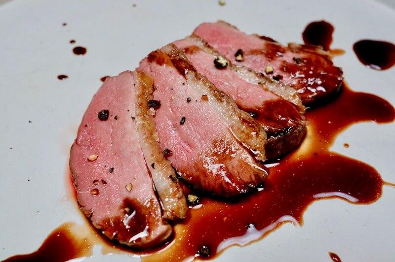 低温調理 シャラン鴨の胸肉5