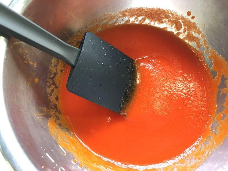 パプリカのムースの作り方16