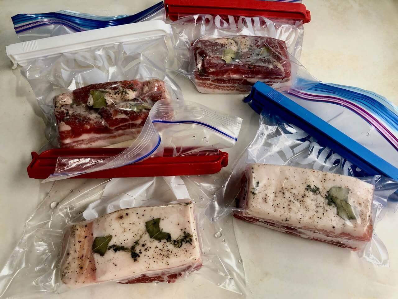 低温調理豚バラ肉24