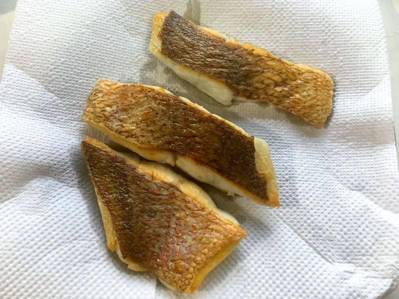 魚のソテーフライパンでの焼き方17