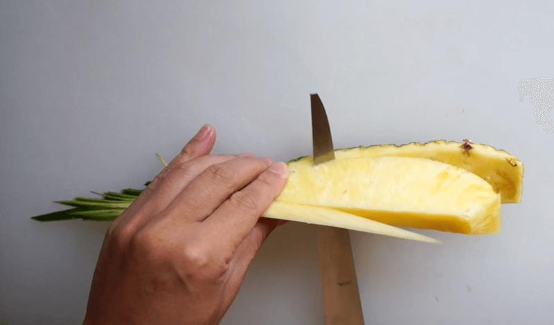 パイナップル飾り切り9