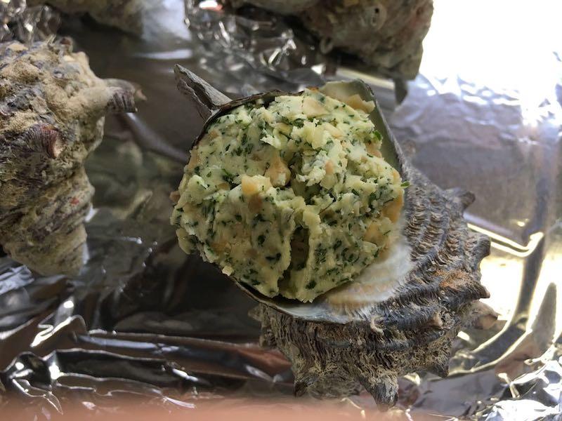 サザエのエスカルゴバター焼き47