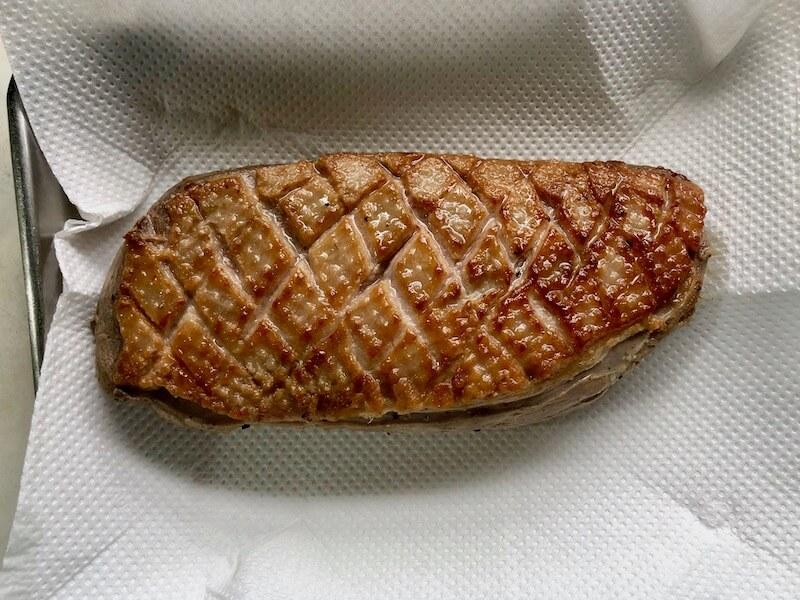 低温調理でバルバリー種の鴨のロースト18