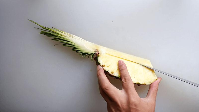 パイナップル飾り切り5