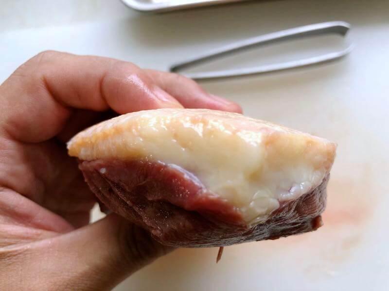 鴨胸肉の下処理18