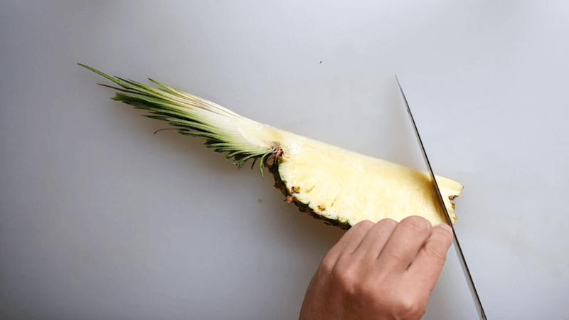 パイナップル飾り切り7