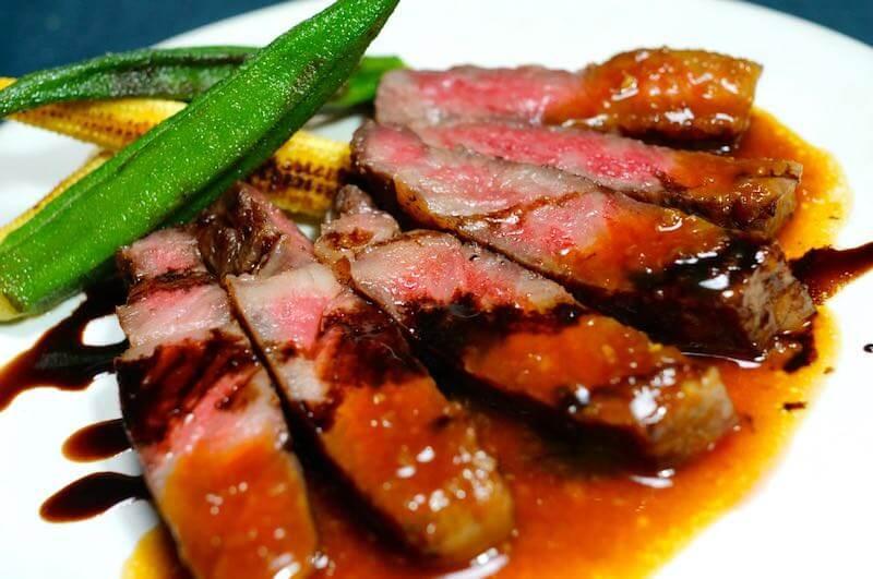 低温調理でステーキの焼き方18