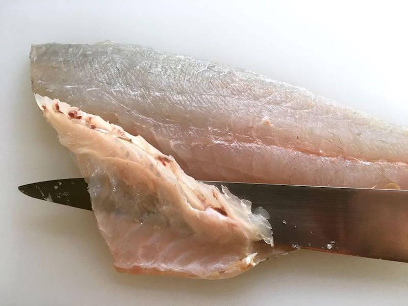 魚のソテーフライパンでの焼き方3