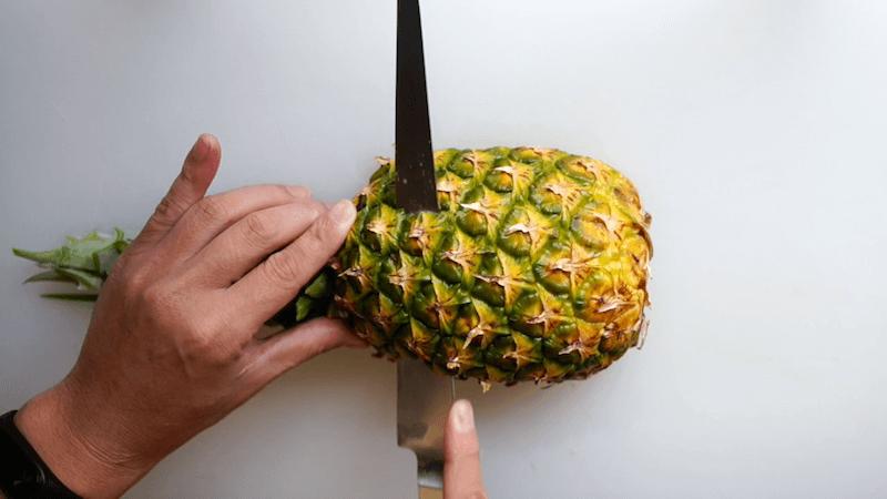 パイナップル飾り切りボート4
