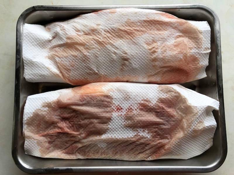 鴨胸肉の下処理6