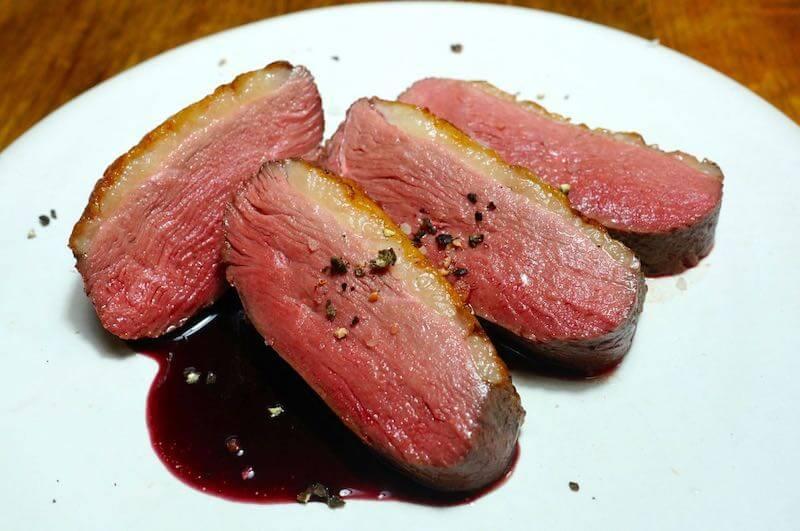 低温調理鴨胸肉2