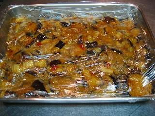 茄子のシェリービネガーマリネ14