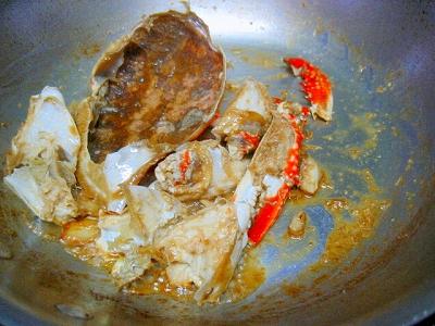 渡り蟹のスパゲティ4