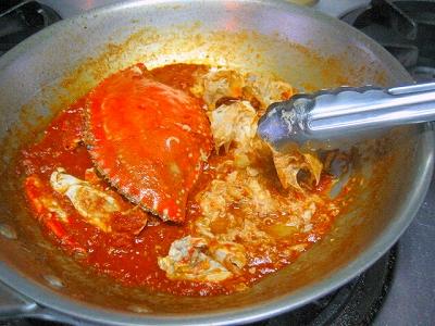 渡り蟹のスパゲティ6