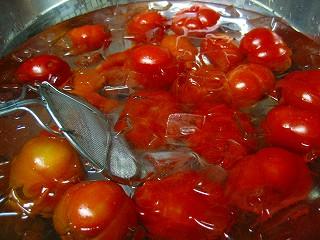 トマト湯むき5